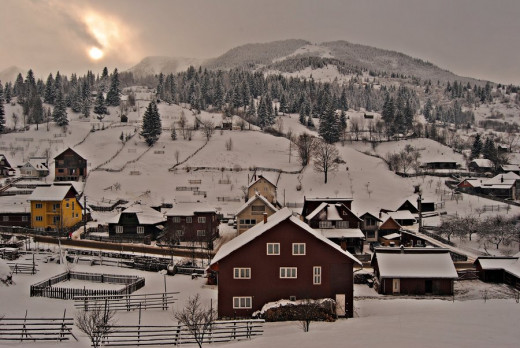 Borsa in winter