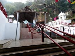 Entrance of the cave area at at Gupt Godavari