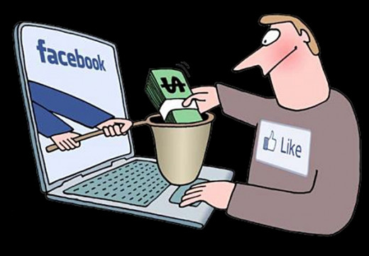 Sometimes you can lose money because of Facebook
