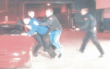 This was after Bell was dragged from his car to the side of the police cruiser.