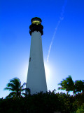Cape Florida Lighthouse Key Biscayne - Bill Baggs State Park