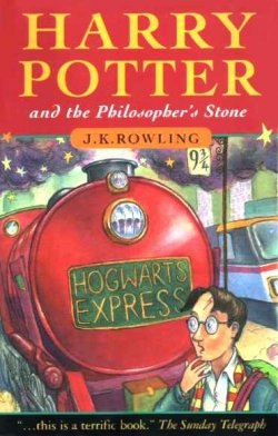 Harry Potter and the Philosopher's Stone- First book of Harry Potter Series