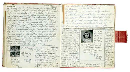 original diary of Anne Frank