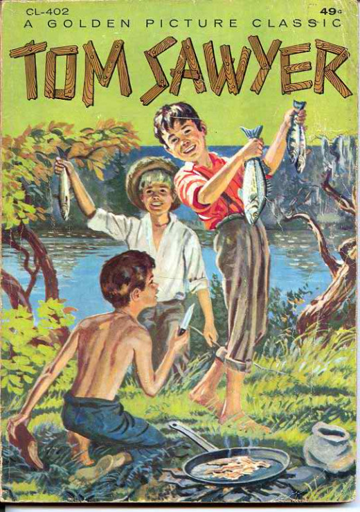 Cover of The Adventure of Tom Sawyer