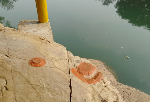 Footprint of Jayant as a crow