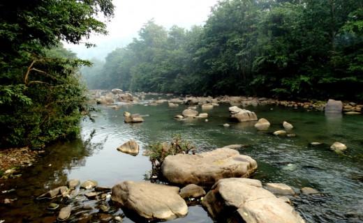 Mandakini river at Sati Anusuya 2
