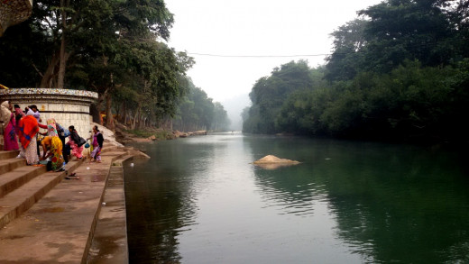 Mandakini river at Sati Anusuya 4