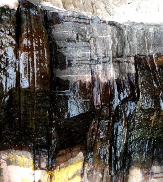 Dripping water of Hanuman Dhara 1