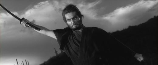 Hanshirō Tsugumo (Tatsuya Nakadai) is somewhat ticked off in Masaki Kobayashi's Harakiri (1962)