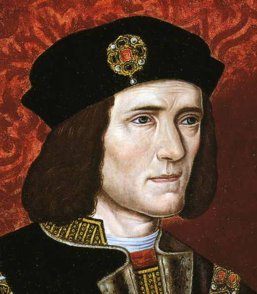 King Richard III born 2 October 1452 died 22 August 1485 was the King of England from 1483 until he died