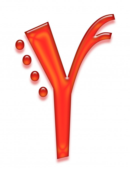 Print 2 of the letter y.
