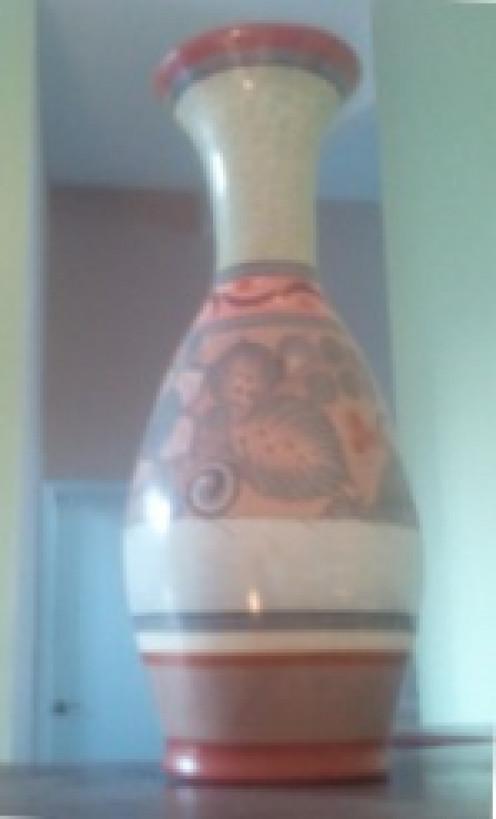 Pretty Mexican vase