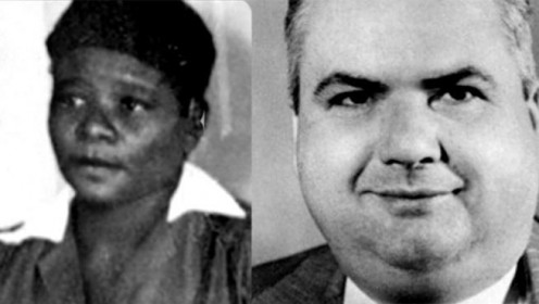 Ruby McCollum and Dr. C. Leroy Adams