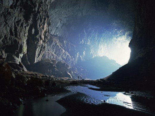 Simply incredible.... Hang Son Doong is the largest cave in the world.