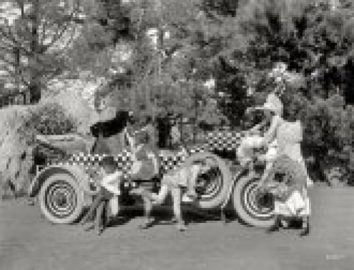 Auto races in 1925