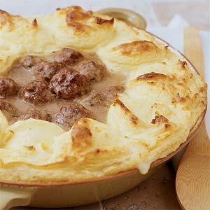 Meatball Shepherds' Pie
