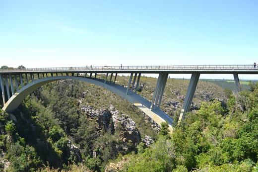 Storms river Paul Sauer Bridge