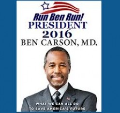 Ben Carson and Herman Cain . One For The Money . Two For The Show .
