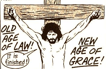 The beginning of the new age of grace.