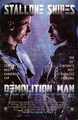Demolition Man Theatrical release poster