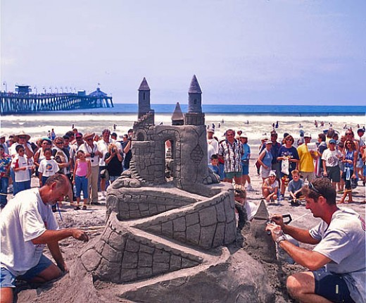 Sand Castle Contest, Imperial Beach