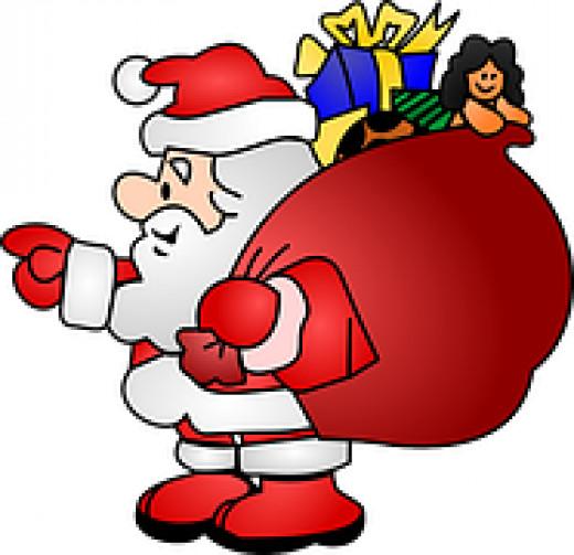 Santa Brings Great Tidings of Joy? Really?
