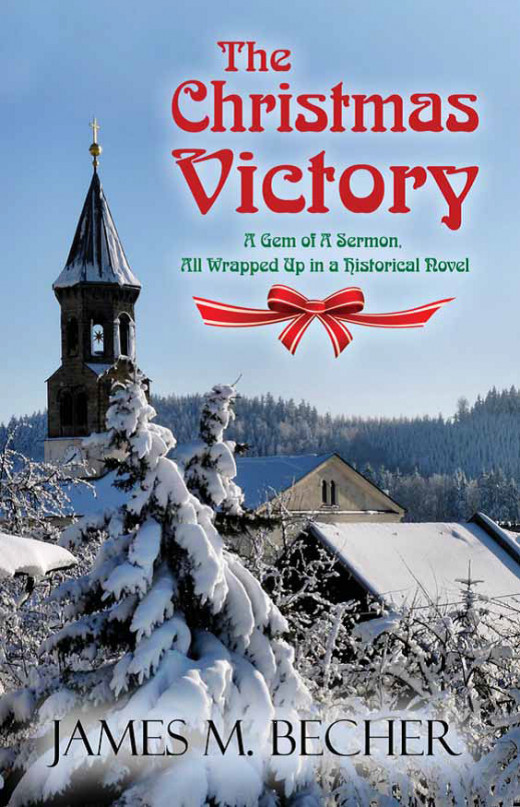 "My new historical novel, ""The Christmas Victory"""