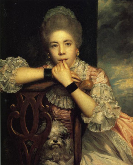 Reynolds Portrait of a Lady was exhibited at the third annual exhibition of the Academy in 1771.