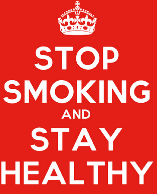 Ways to stay healthy- give up smoking