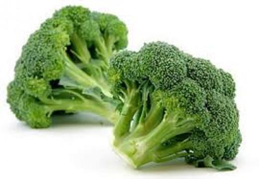 Broccoli is a good source of folic acid