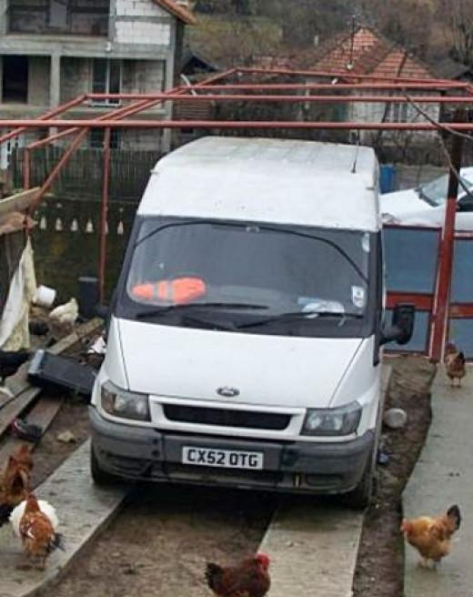 Ion Lazar's new van