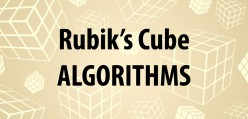 A List of Every Rubik's Cube Algorithm You Will Ever Need