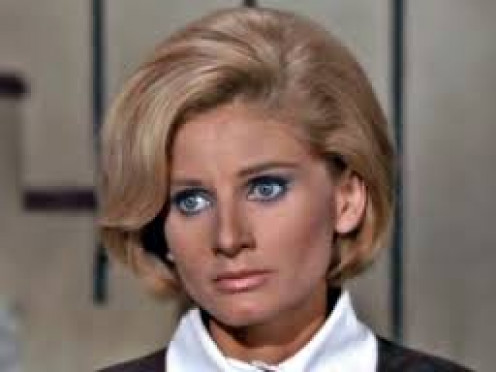 The beautiful Jill Ireland, Charles Bronson's wife