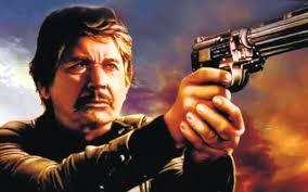 Bronson in a gunfight scene
