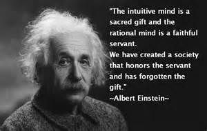 Einstein on the Thought Pattern