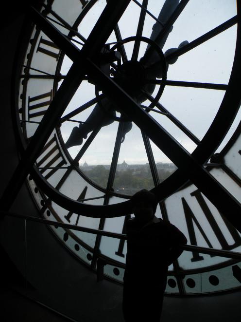 Clock at D Orsay Museum