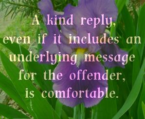 Kindness Leaves Us Comfortable