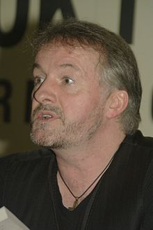 Connolly while attending the 2011 Miami Book Fair International in Miami.
