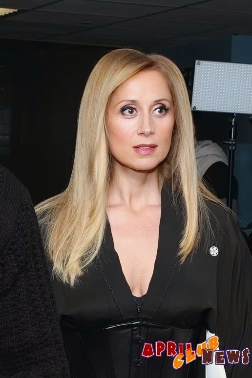 Lara Fabian in the backstage of the Kremlin, in Moscow, Russia, in Igor Krutoy's 60th birthday celebratory concert - November 22, 2014.