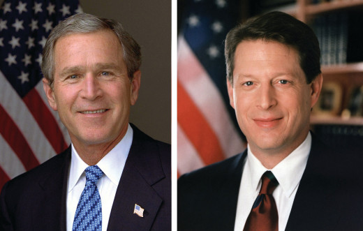 One of the America's closest elections, and not without controversy.
