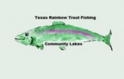 Texas Rainbow Trout Fishing - Community Lakes and Ponds