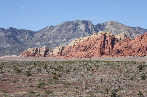 Red Rock Canyon, just west of Summerlin South.
