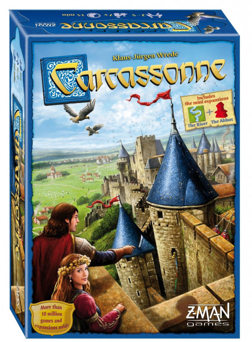 Carcassonne - tile-based strategy game