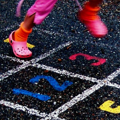 Hopscotch Playmats Let Your Kids Enjoy a Traditional Active Game Indoors