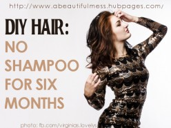 DIY Hair: No Shampoo for Six Months