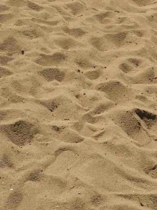Amazing Beach Sand