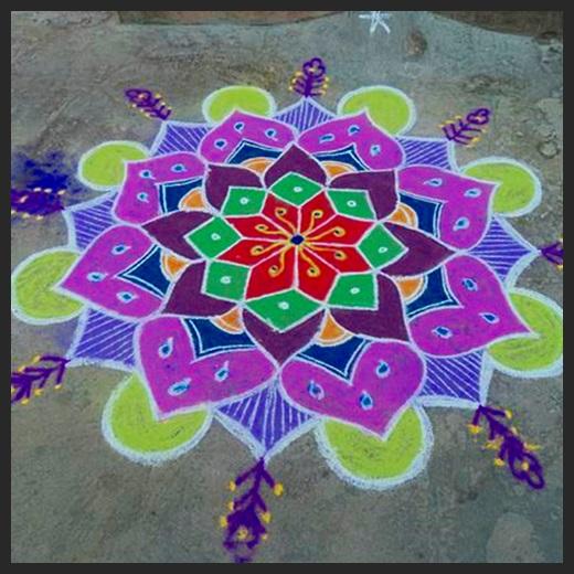 Color Kolam