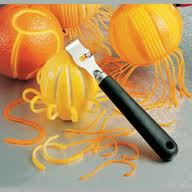 A Zester helps in grating Citrus fruits