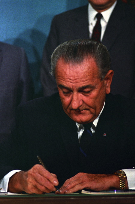 When Lyndon B. Johnson signed the Civil Rights Act, he was confronting structural racism head on.
