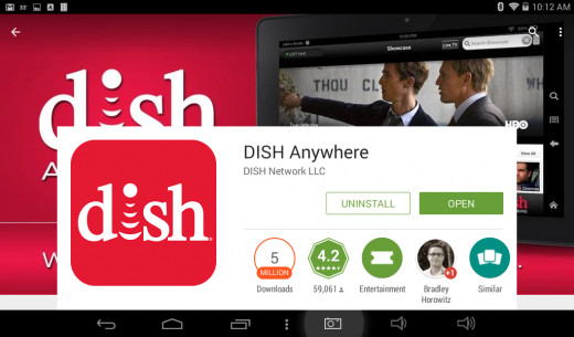 Dish Anywhere is available for free on Android and can be used by all Dish customers.